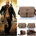 Vintage Men's Canvas Messenger Shoulder Bag Military Crossbody Bags Satchel