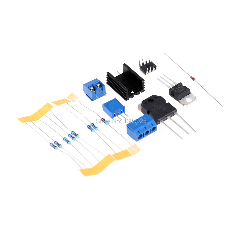 0 30v 2ma 3a Continuously Adjustable Dc Regulated Power Supply Diy 3 30 V 25 A Kit Short Circuit Current Limiting Protection In Integrated Circuits From Electronic