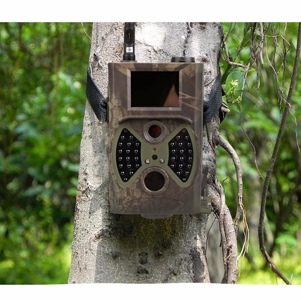 Trail camera hc 300m suntek gprs gsm mms for outdoor wildlife traps with black ir infrared Hunting game trail camera салатник фарфор вербилок белая лилия 1 1 л