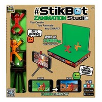 Stikbox Stik Bot Screen Animation Toys Shed Dolls With Sucker DIY Creat Animation Film StikBot Toys