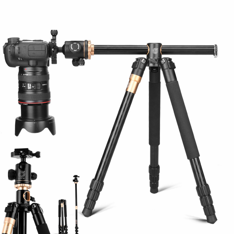 Trépied en Aluminium monopode support à pince pour Gopro Canon Nikon Sony DSLR caméscope support de caméra Mobile support stabilisateur Filmadora