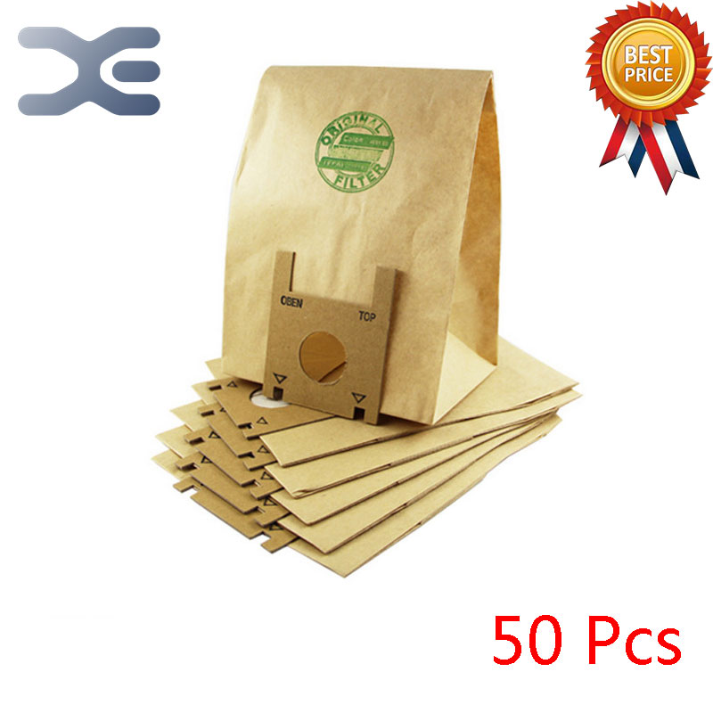 50Pcs High Quality Vacuum Cleaner Accessories Garbage Bag Filter Bag Dust Bag Paper Bag RO121 / 430/1251 50pcs high quality vacuum cleaner accessories dust bag dust garbage paper bag zr814 ru100 rb880 820