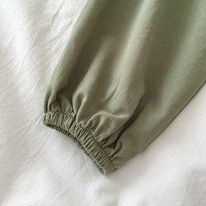 Image 5 - 2020 קיץ סתיו נשים שתי חתיכה סט למעלה ומכנסיים אימונית בתוספת גודל מועדון תלבושות מקרית לבן 2 סט חתיכה גבירותיי בגדים