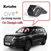 Enregistreur de conduite de voiture pour Changan cs95 haute avec enregistrement de route de voiture WiFi DVR Novatek 96658 HD 1080P caméra de tableau de bord CCD