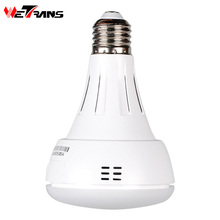 Wetrans Wireless Camera IP Wi-fi Light Bulb HD 3MP LED Security Smart CCTV Camera Panoramic Wi fi  Alarm P2P Audio Night Vision