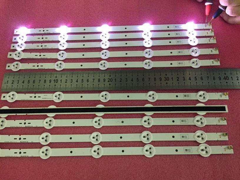 FÜr Sony Svg400_rev3_121114, Svg400a81-rev3-121114 Ist Verwendet 1 Stück = 5led 395mm Feine Verarbeitung