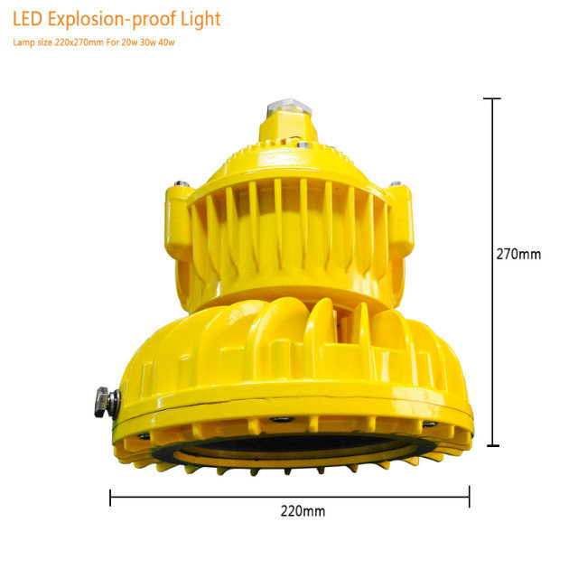 20w 30w 40w Explosion Proof Led High Bay Light-in