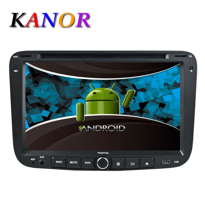 KANOR 2DIN Android Quad Core ROM 16G Car DVD For Geely Emgrand EC7 dvd car radio Emgrand 7 With Wifi 3g BT Radio Free Map SWC