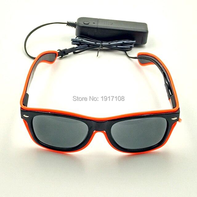 Balck Lenti Locale Notturno Occhiali Arancione Incandescente Occhiali Da  Sole Per La Decorazione Del Partito Di
