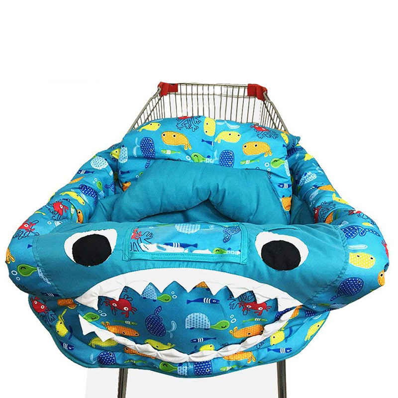 Baby 3-in-1 Shopping Trolley Cart Cover Hammock Universal Fit Kids High Chair Covers For Toddler Cover Playing Blantet