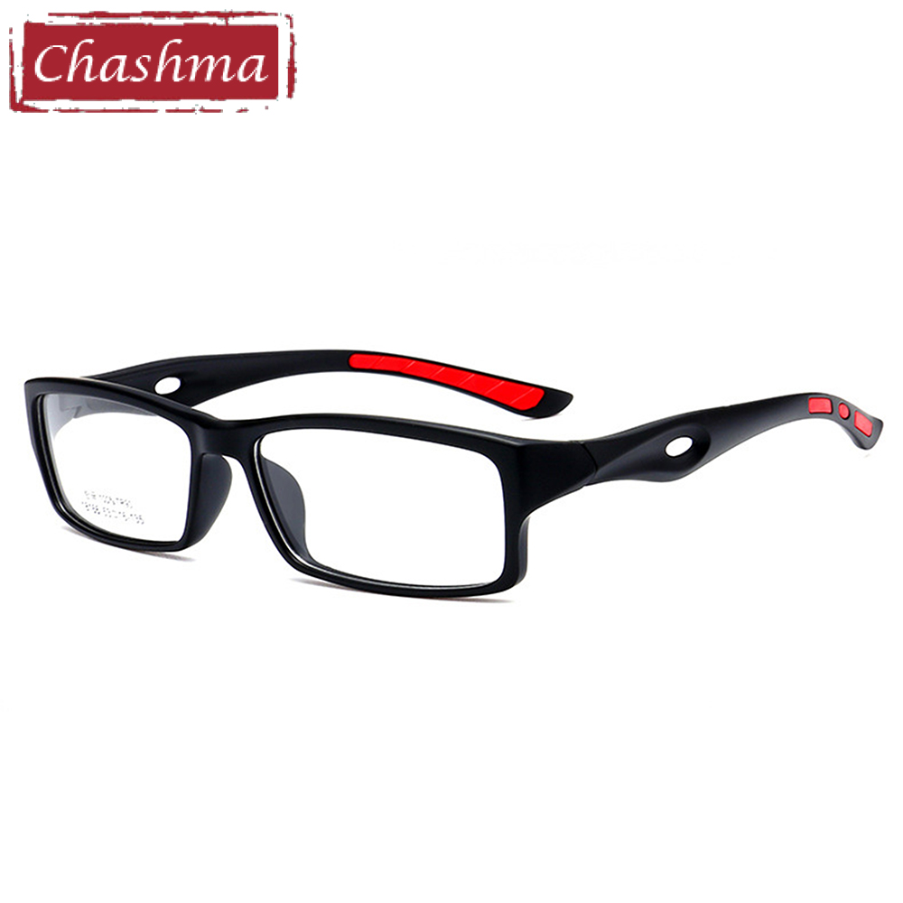 Chashma TR90 Sports Full Frame Eyewear Ultra Light Play Riding Myopia Eye Glasses Marcos para hombres