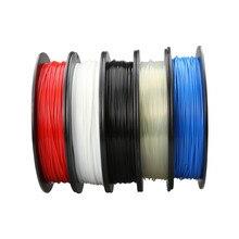 200M PLA 3D Printer Filaments PLA 1.75mm/0.5kg Plastic Rod Ribbon Consumables Material Refills For MakerBot/RepRap/UP