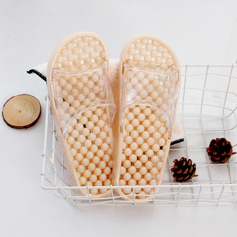 1PR, zapatillas de baño Tranparent, zapatos de goma para el hogar para hombre, marca Sandalia de diseño, zapatos deslizantes de ducha de masaje planos, zapatos de alta calidad Nueva Experiencia alta para ayudar a los zapatos deportivos tejidos para hombres, zapatos informales para hombres, zapatos ligeros y cómodos para hombres