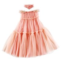 So Beauty Baby Girl Flower Dresses Latest Baby Frock Designs Kids Dress Maxi Long Romantic Necklace