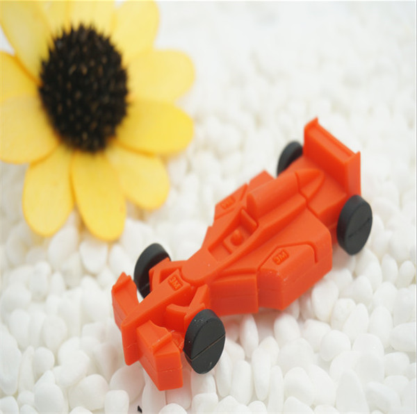 New Mini Racing Car Real Capacity 2GB-64GB USB 2.0 Flash Drive 32GB thumb pen drive 16GB ...