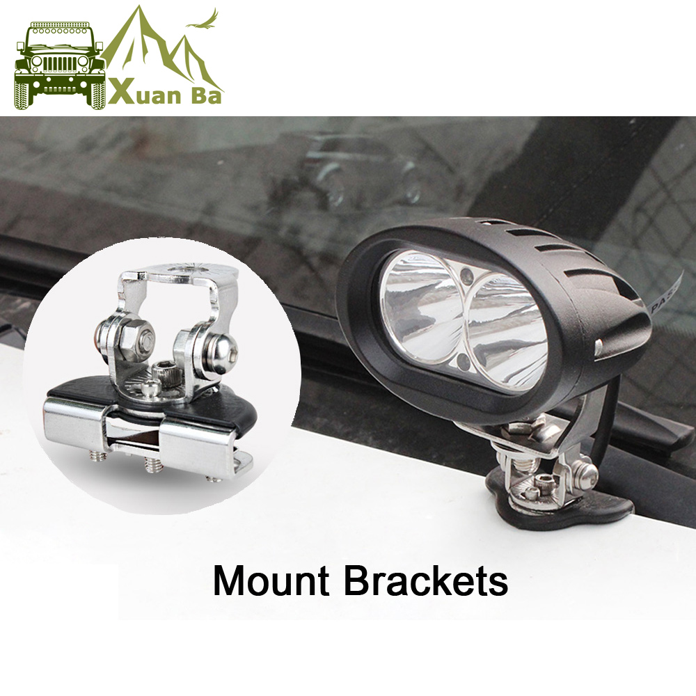 2Pcs/Set Stainless Steel Mount Brackets for 4x4 Off  Car Vehicle Police Excavator Truck ATV UTV SUV Hood Engine Cover Bonnet the locomotive car off road motorcycle 4 sets of four summer leggings kneecaps fall proof stainless steel brace length