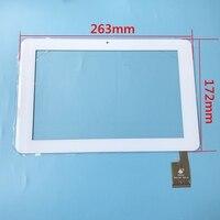 Nowy VER1.0 Dotykowy Dla Sanei N10 AMPE TPC0187 A10 263*172mm Tablet dotykowy Panel dotykowy ekran digitizer Czujnik