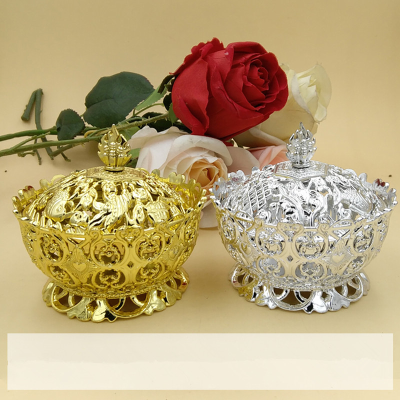 10pcs Candy Box Creative Wedding / Wedding / Celebration / Birthday Party / Gilded Silver Crown Candy Box Large Capacity