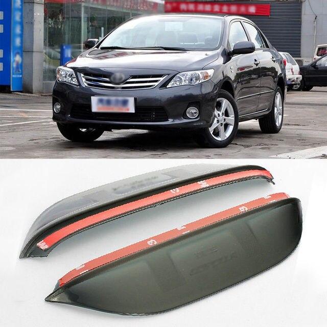 Blade Side View Mirror Rainproof Cover Sun Visor Shield For Toyota Corolla
