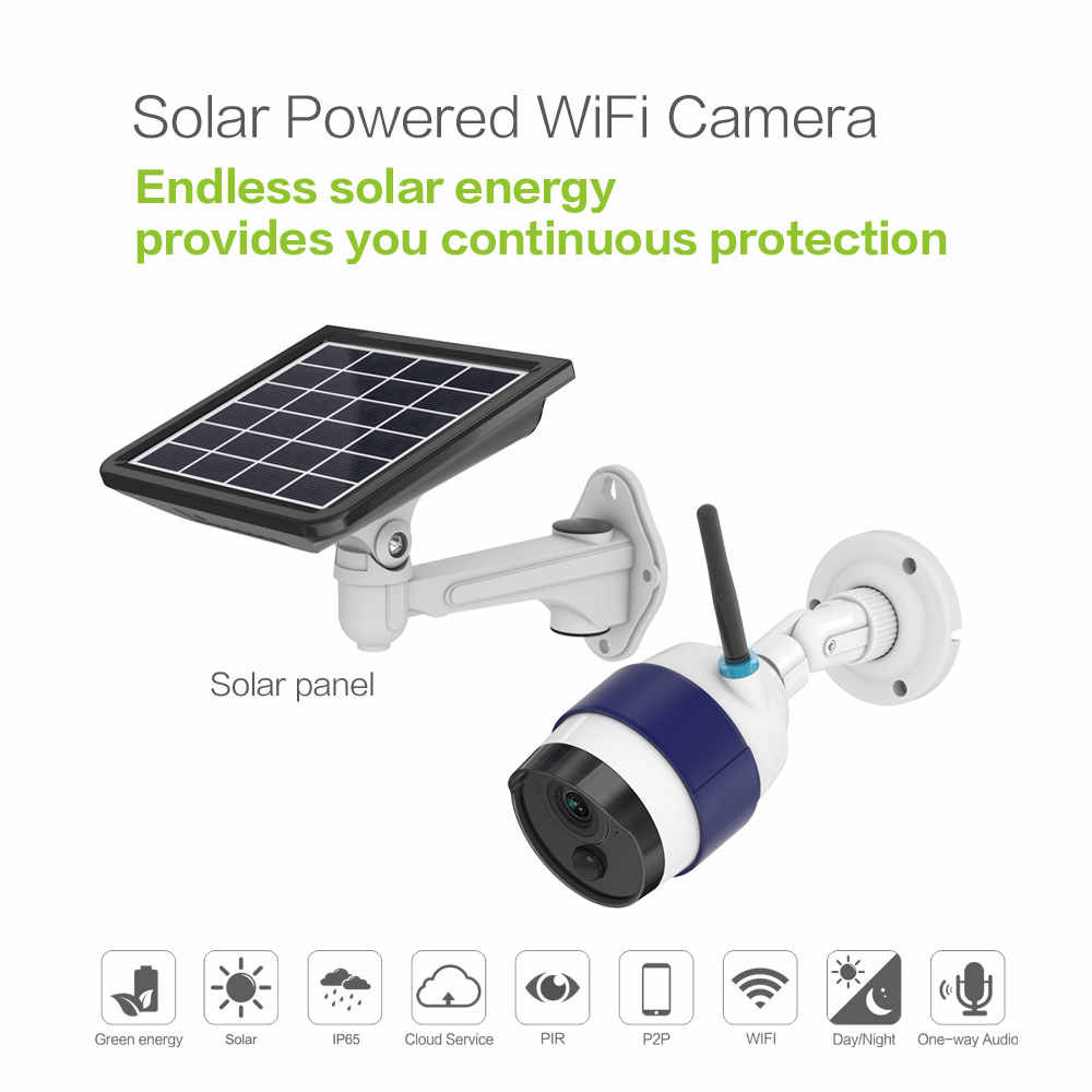 Detail Feedback Questions about FREECAM Solar Power IP Camera 720P