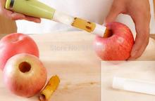 free shipping Apple Pulling Plastic fruit pitted coring device is creative effort core splitter kitchen supplies #5106 Z5
