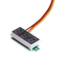 Mini voltmètre numérique à écran LED 0-0.28 V, 100 pouces, testeur de tension, accessoires de pièces électroniques