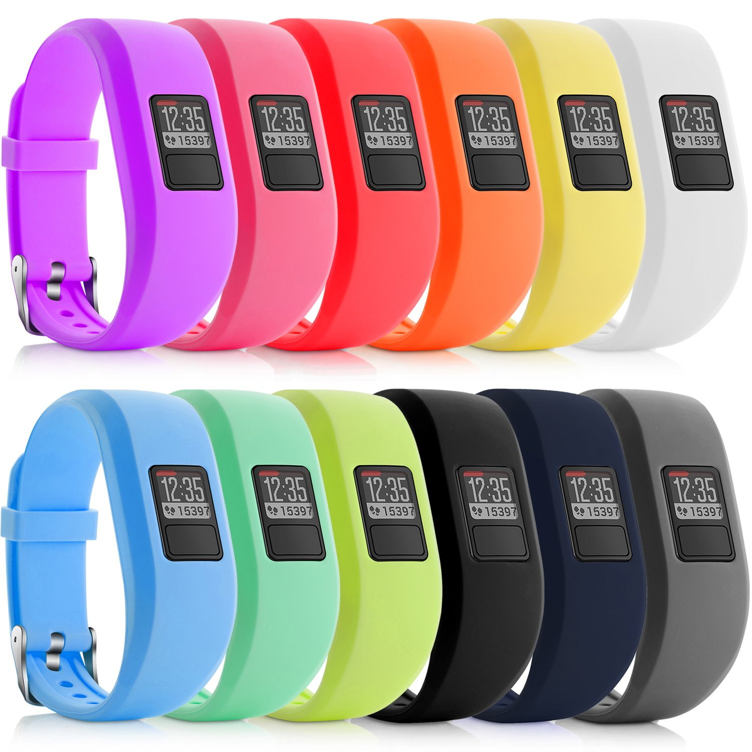 Smart Watch Strap Pure Silicone Watch Band Strap Replacement For Garmin Vivofit For JR JR2 Junior Fitness