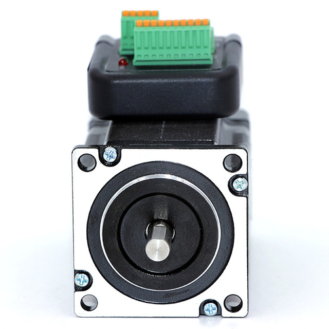 NEMA 23 2N.m 283ozf.in Integrated Closed Loop Stepper motor 36VDC JMC iHSS57-36-20 nema23 2nm 283oz in integrated closed loop stepper motor with driver 36vdc jmc ihss57 36 20