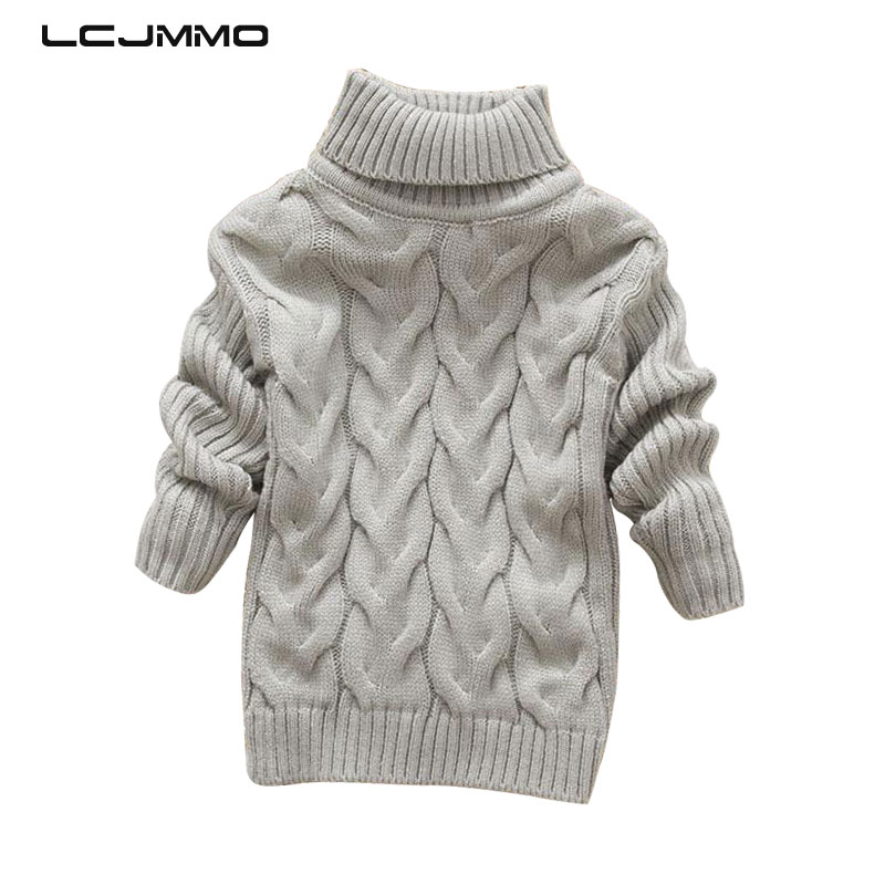 LCJMMO Girls Sweaters 2018 Autumn Knitted Turtleneck Baby Girl Sweater Cartoon Rabbit Cotton Winter Warm Kids Sweaters Coat 1-5Y new year sweater kids sweaters autumn girls turtleneck sweaters for winter knitted bottoming boys sweaters vetement enfant