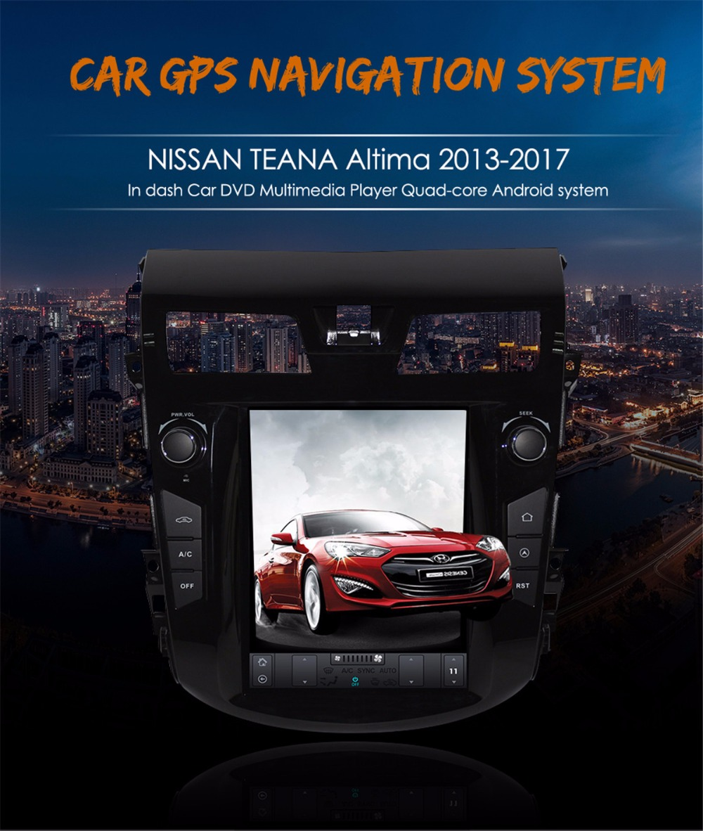 Greenyi Universal Android 80 Car Gps Dvd For Nissan Gashqai X Trail Teana Wiring Diagram Tesla Style Pure 7 Navigation No Player Altima 2013