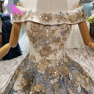 Image 5 - AIJINGYU Plus Size Dress Gowns For Older Brides 2021 2020 Indian Uk Austria Quality Princess Style Gown Wedding Dresses For Sale