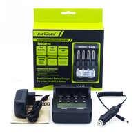 Neue 2018 VariCore V40 3,7 V 18650 26650 18350 16340 18500 25500 10440 17500 NiMH 1,2 V AA AAA 5 V ausgang LCD smart batterie ladegerät