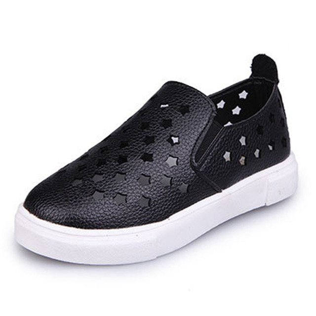 Cutout Baby Casual Shoes 2017 Fretwork Toddlers Spring Shoes Unisex Breathable Kids Boys Loafers for Leisure