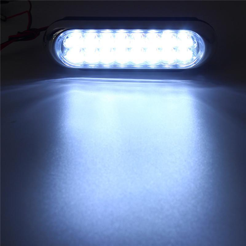 Auto Car <font><b>LED</b></font> Daytime Driving <font><b>Lamp</b></font> External Laser 6W White Black <font><b>16</b></font> 2 Universal DC 12V <font><b>Fog</b></font> Light image