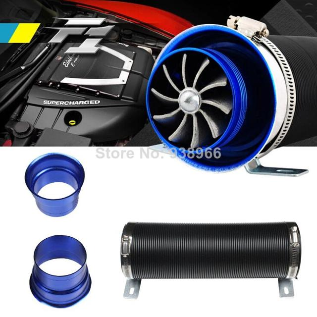 3 Universal Car Turbo Air Pipe Flexible Cold Air Intake Inlet