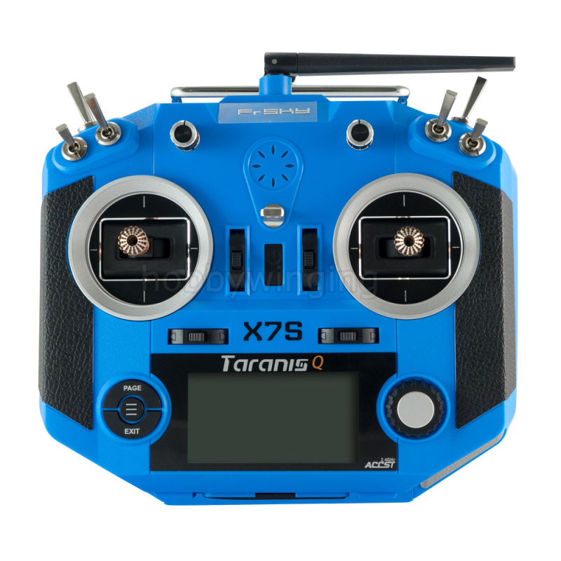 FRSKY ACCST Taranis Q X7S Transmitter Hall sensor M7 gimbal supports the wireless trainer function frsky taranis q x7 2 4ghz 16ch mode 2 transmitter rc multicopter model