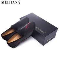 Man shoes luxury 2016 Man shoes brand casual luxury sharp red and navy  men's shoes fashion men office