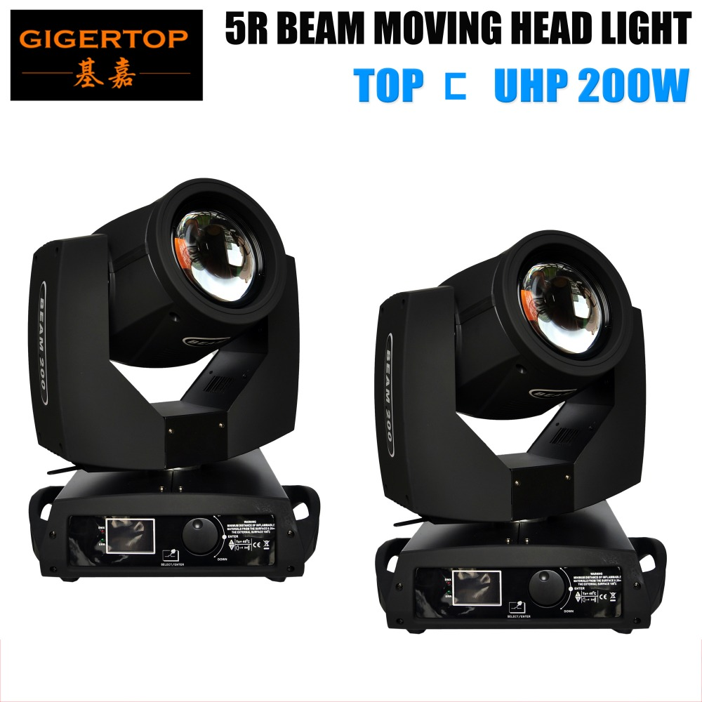TIPTOP 2XLOT China Beam 5R Sharpy Beam Moving Head Light,200W Moving Head Light 14 Color 17 Gobo Wheel Rotation 16 Face Prism xr e2530sa color wheel 5 color beam splitter used disassemble