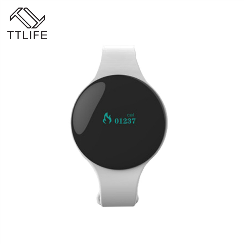TTLIFE Bluetooth Smart Bracelet Pedometer Smart Band with Dial Ring Wearable Devices Smart Wristband Anti Lost
