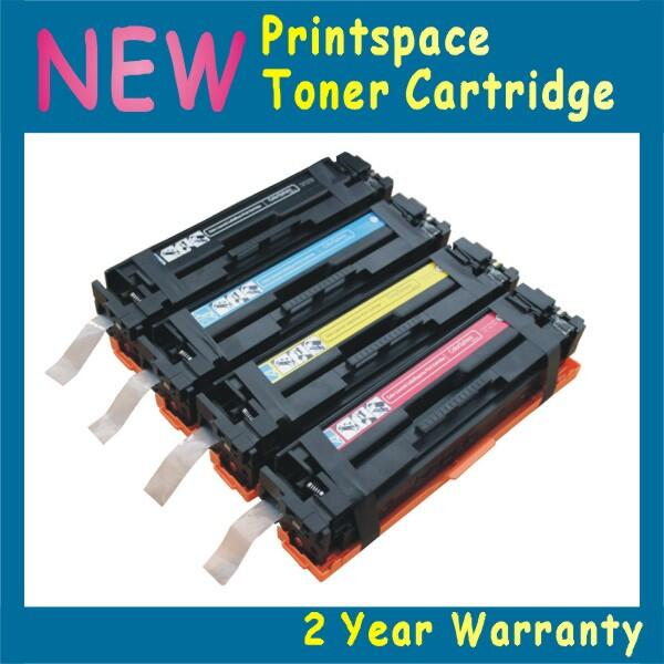 ФОТО 4x NON-OEM Toner Cartridges Compatible For HP 201 201A HP Color Laserjet Pro M252dw M277dw CF400A CF401A CF402A CF403A