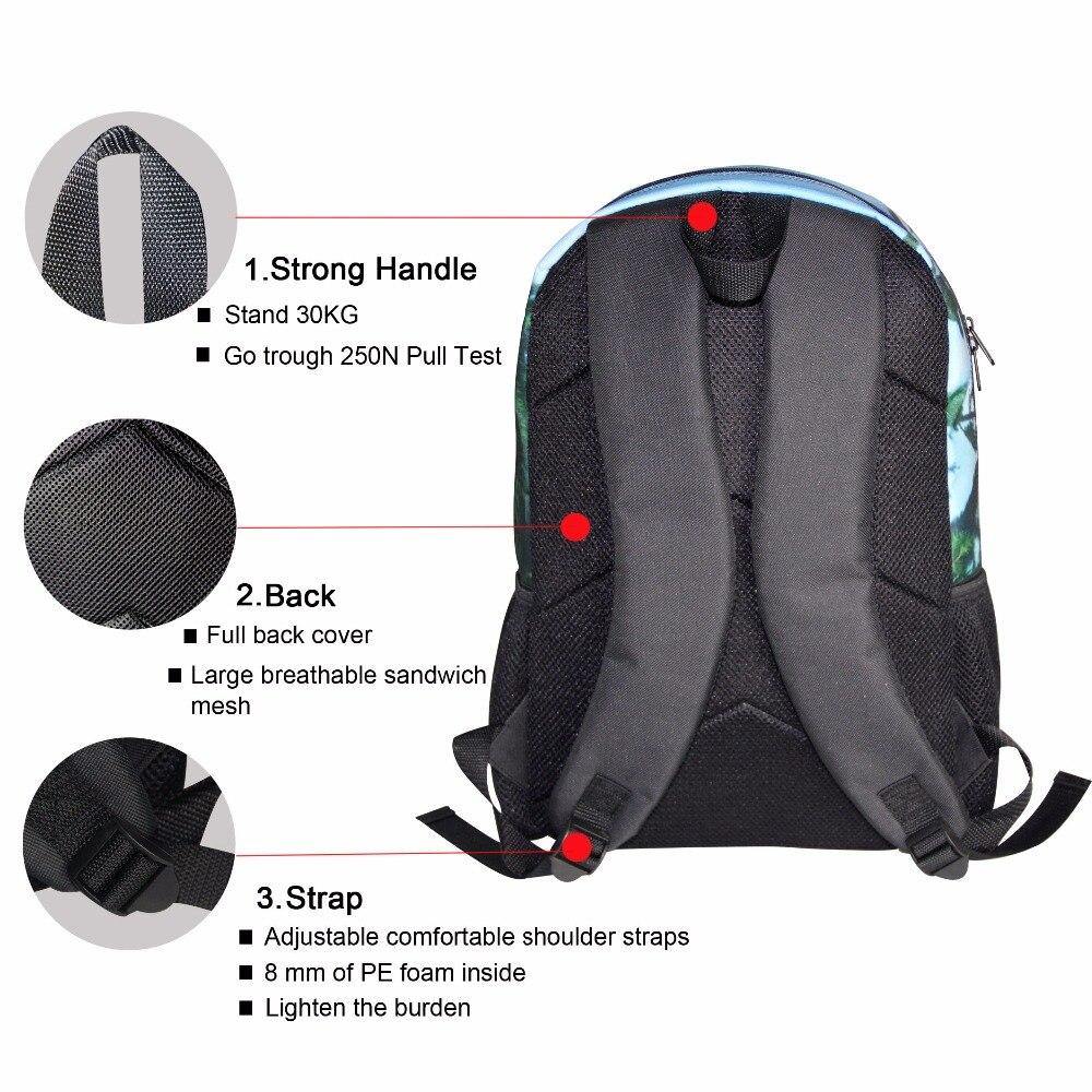 aliexpress com buy forudesigns cartoon blue sea world backpacks