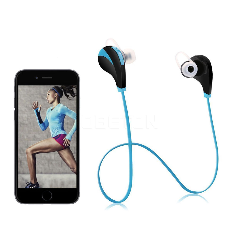 G6 Bluetooth 4 0 Headset Sports Running Stereo Wireless Earphones with Mic Multi point Handsfree Sweatproof