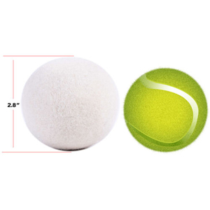 Image 3 - 6X/Packซักรีดทำความสะอาดลูกบอลธรรมชาติอินทรีย์ซักผ้าผ้าBallพรีเมี่ยมขนสัตว์อินทรีย์ลูกบอลDropshipping