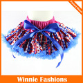 Wholesale July 4th Patriotic Girl Skirt Girls Fluffy Pettiskirts Baby Tutu Skirts Total 25 Psc Be Shipped By Dhl Free Shipping