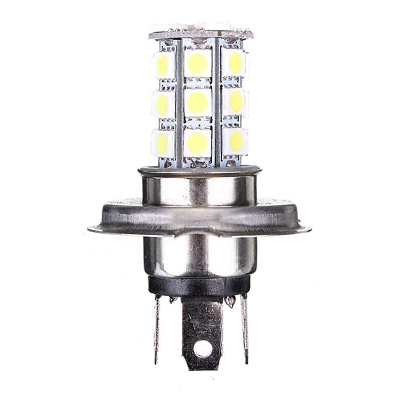 Lights & Lighting Rapture 1pcs H4 Dc12v Headlight Xenon White 9003 5050 27-smd Led Bulbs Fog Drl Daytime Running Light High/low Head Headlight