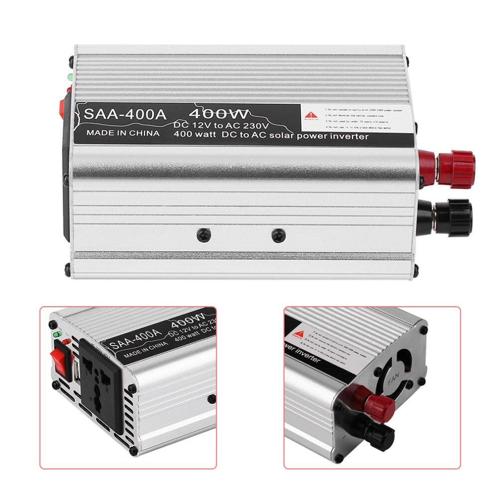 New Arrival DC12V To AC220V Inverter Car Vehicle Voltage Inversor Power Inverter Adapter 300/400/500/600 Hot