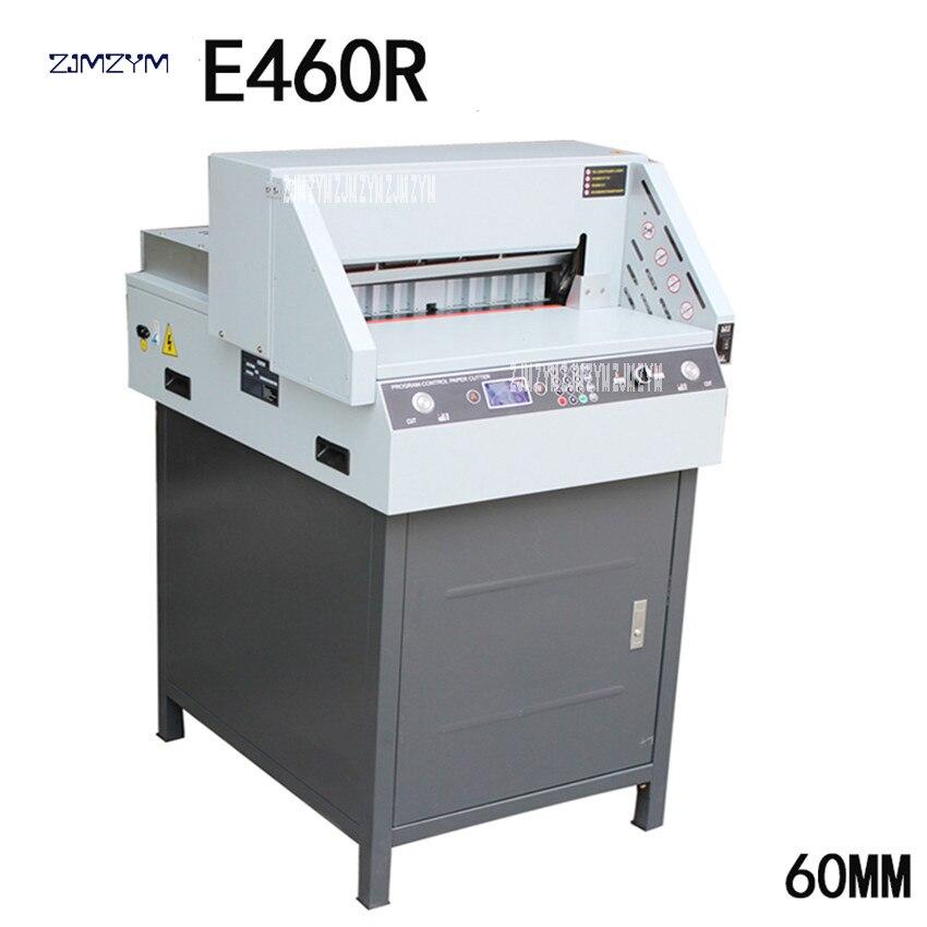 Cortador de papel elétrico digital E460R Automática