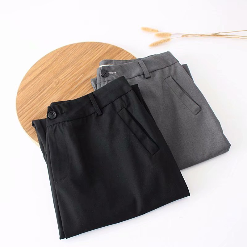 F42 Autumn Plus Size Women Clothing Ankle-length Pants 4XL Casual Fashion Loose straight Pants 8802 6