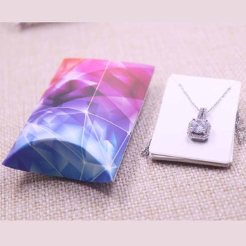 Wholesale Pillow Shape Jewelry&necklace&Earring DIsplay Box 1