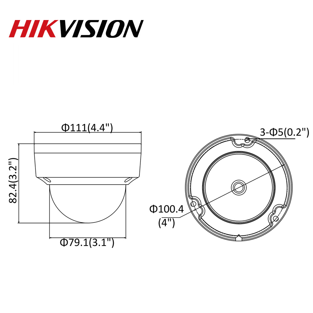 Image 5 - Hikvision Original IP Camera 8MP IR Fixed Dome DS 2CD2185FWD I Network Camera POE H.265 Updatable CCTV security H.265 IP67-in Surveillance Cameras from Security & Protection